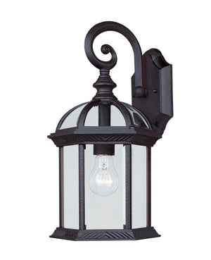433061 - One Light Outdoor Wall Lantern - Textured Black