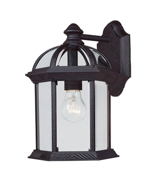 433068 - One Light Outdoor Wall Lantern - Textured Black