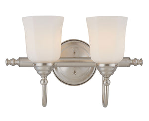 486465 - Two Light Bath Bar - Satin Nickel