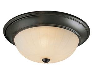 486941 - Three Light Flush Mount - English Bronze