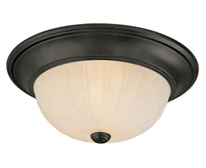 486924 - Two Light Flush Mount - English Bronze