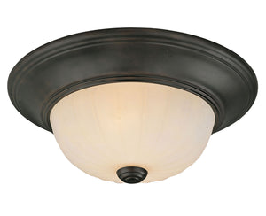 486922 - Two Light Flush Mount - English Bronze