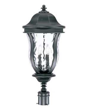 469521 - Four Light Post Lantern - Black