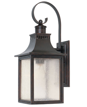 242452 - One Light Outdoor Wall Lantern - English Bronze