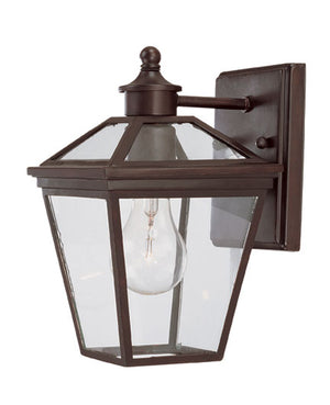 218155 - One Light Outdoor Wall Lantern - English Bronze