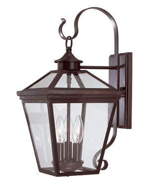218800 - Three Light Wall Lantern - English Bronze