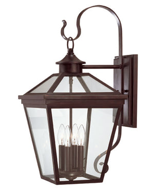 218804 - Four Light Outdoor Wall Lantern - English Bronze