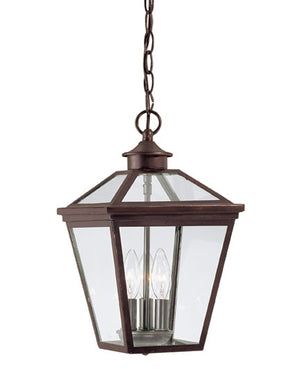 218809 - Three Light Hanging Lantern - English Bronze