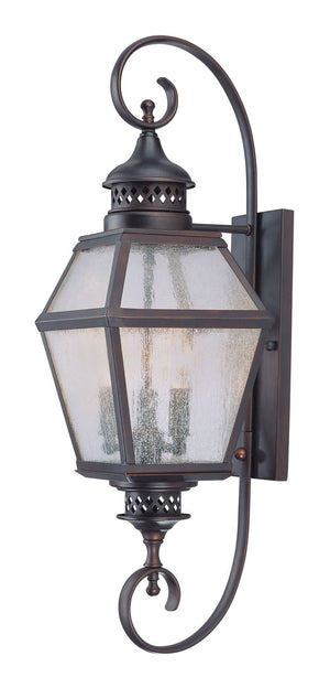 325792 - Three Light Wall Lantern - English Bronze