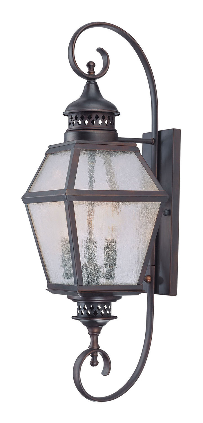 Three Light Wall Lantern