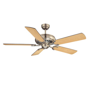 373425 - 52``Ceiling Fan - Satin Nickel