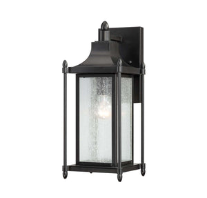 946696 - One Light Outdoor Wall Lantern - Black