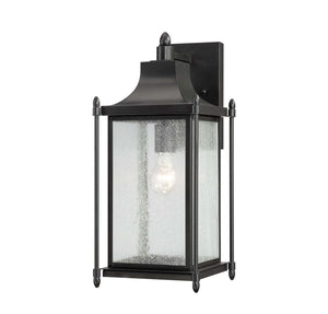 946697 - One Light Outdoor Wall Lantern - Black