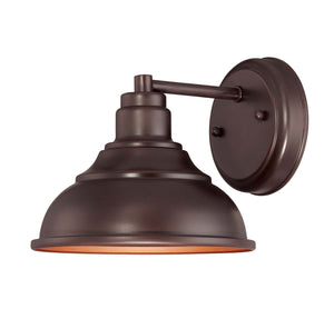 946613 - One Light Outdoor Wall Lantern - English Bronze