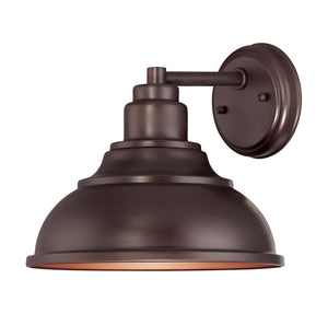 946619 - One Light Outdoor Wall Lantern - English Bronze