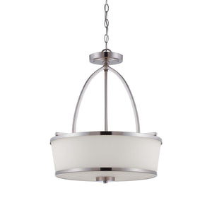 946653 - Three Light Pendant - Satin Nickel