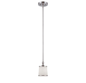 946651 - One Light Mini Pendant - Satin Nickel