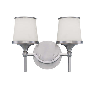 946743 - Two Light Bath Bar - Satin Nickel