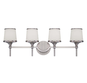 946746 - Four Light Bath Bar - Satin Nickel