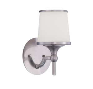 946726 - One Light Wall Sconce - Satin Nickel