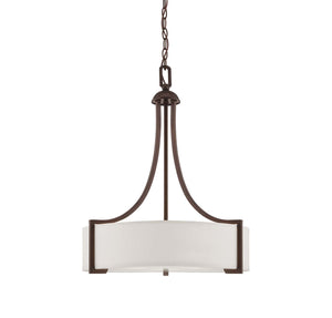 937609 - Three Light Pendant - English Bronze