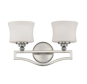 937643 - Two Light Bath Bar - Satin Nickel
