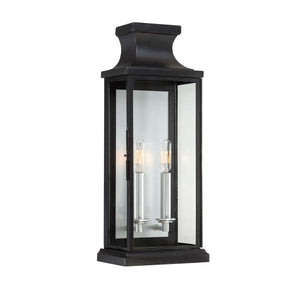 937744 - Two Light Wall Lantern - Black