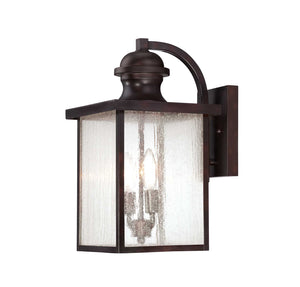 957594 - Two Light Wall Lantern - English Bronze