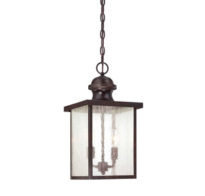 957592 - Two Light Hanging Lantern - English Bronze