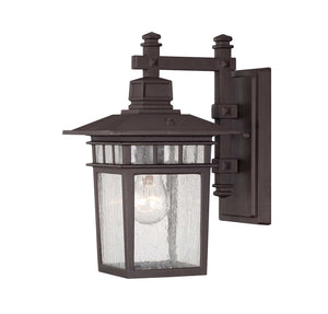 957513 - One Light Outdoor Wall Lantern - Textured Bronze