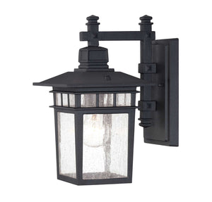 957519 - One Light Outdoor Wall Lantern - Textured Black