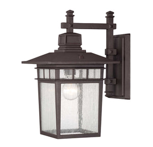 957511 - One Light Outdoor Wall Lantern - Textured Bronze