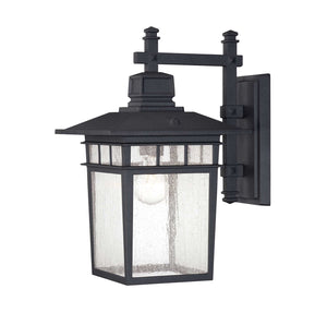 957518 - One Light Outdoor Wall Lantern - Textured Black