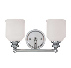 955006 - Two Light Bath Bar - Polished Chrome