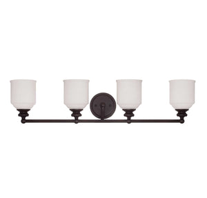 955042 - Four Light Bath Bar - English Bronze