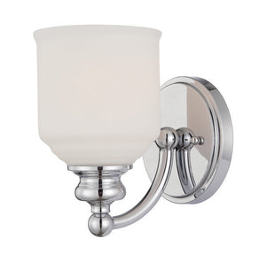 120771 - One Light Wall Sconce - Polished Chrome