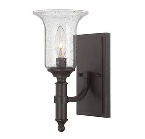 120775 - One Light Wall Sconce - English Bronze