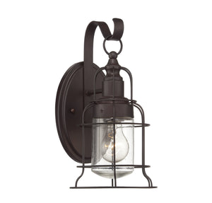 111067 - One Light Outdoor Wall Lantern - English Bronze
