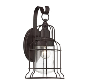 111065 - One Light Outdoor Wall Lantern - English Bronze
