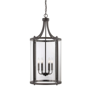111058 - Six Light Foyer Lantern - English Bronze