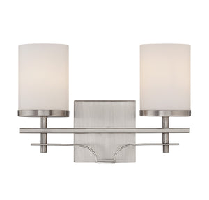 162577 - Two Light Bath Bar - Satin Nickel