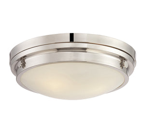 834836 - Three Light Flush Mount - Polished Nickel