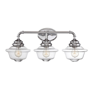 834873 - Three Light Bath Bar - Chrome
