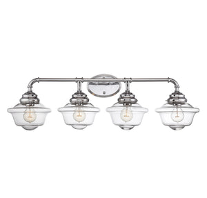 834879 - Four Light Bath Bar - Chrome