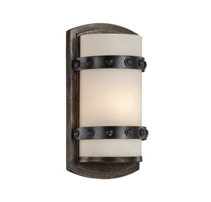834629 - One Light Wall Sconce - Reclaimed Wood