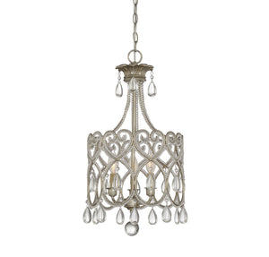811083 - Three Light Mini Chandelier - Argentum