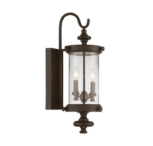 811051 - Two Light Wall Lantern - Walnut Patina