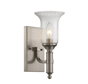 811476 - One Light Wall Sconce - Satin Nickel