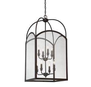 603352 - Eight Light Foyer Pendant - English Bronze
