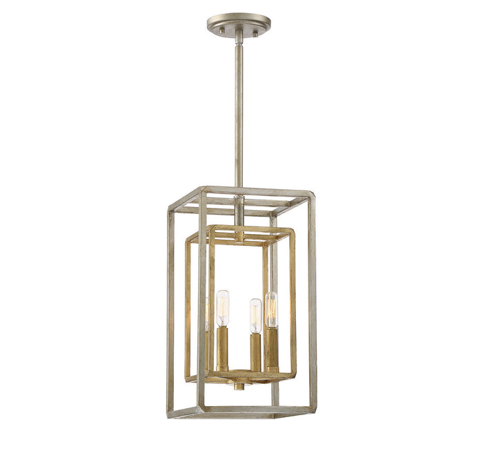 Four Light Foyer Pendant